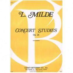 Milde. Estudios de Concierto Op.26 Vol.1 (Fagot)