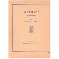 Reutter. Serenade (Fagot y Piano)