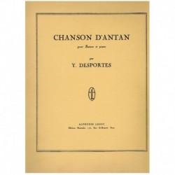 Desportes. Chanson D'Antan (Fagot y Piano)
