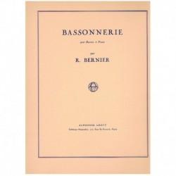 Bernier. Bassonnerie (Fagot y Piano)
