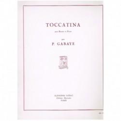 Gabaye. Toccatina (Fagot y Piano)