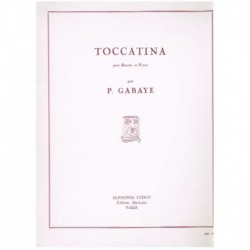 Gabaye. Toccatina (Fagot y...