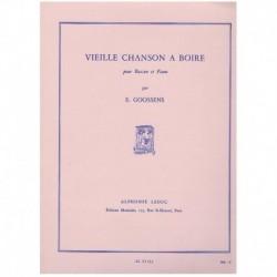 Goossens. Vieille Chanson a Boire (Fagot y Piano)