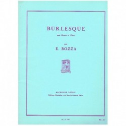 Bozza. Burlesque (Fagot y Piano)