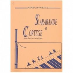 Dutilleux. Sarabande et Cortege (Fagot y Piano)