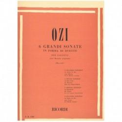 Ozi. 6 Grandes Sonatas en Forma de Duo (Fagot)