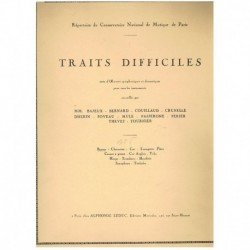 Varios. Traits Difficiles Vol.2 (Fagot)