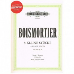 Boismortier. 8 Pequeñas Piezas Op.40 + CD (Fagot)