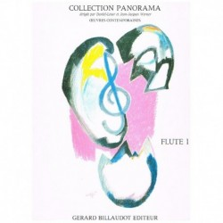 Varios. Collection Panorama. Flute 1 (Flauta y Piano)