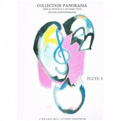 Varios. Collection Panorama. Flute 3 (Flauta y Piano)
