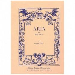 Auric, Georg Aria para Flauta y Piano
