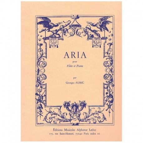 Auric. Aria para Flauta y Piano
