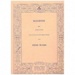 Busser. Siciliana (Flauta y...