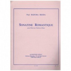 Badura-Skoda Sonatina Romantica (Flauta y Piano)