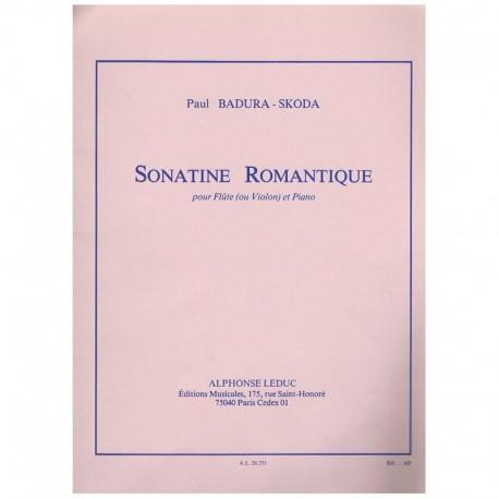 Badura Skoda. Sonatina Romantica (Flauta y Piano)