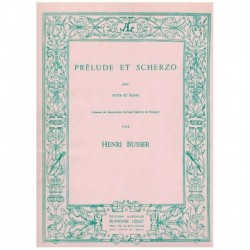 Busser, Henr Preludio y Scherzo (Flauta y Piano)