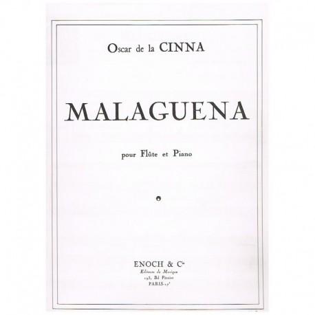 De La Cinna.Malagueña (Flauta y Piano)