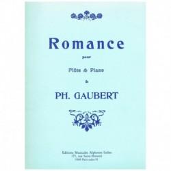 Gaubert. Romance (Flauta y Piano)