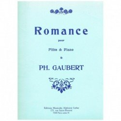 Gaubert. Romance (Flauta y...