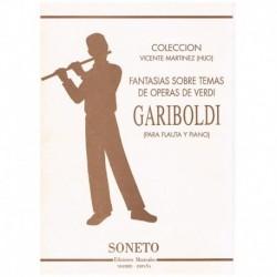 Gariboldi. Fantasias Sobre Temas de Operas de Verdi (Flauta y Piano)