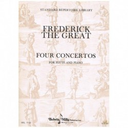 Frederick The Great. 4 Conciertos para Flauta y Piano