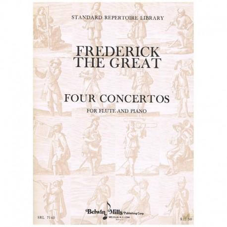 Frederic The 4 Conciertos para Flauta y Piano