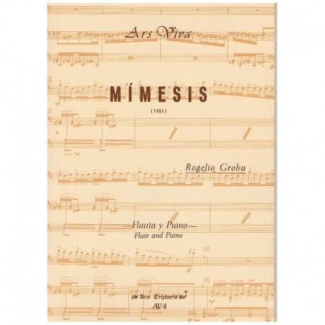 Groba, Rogel Mimesis (Flauta y Piano)