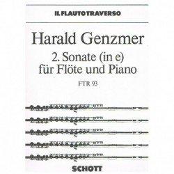 Genzmer, Har Sonata Nº2 Mi...