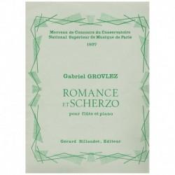 Grovlez. Romance et Scherzo...