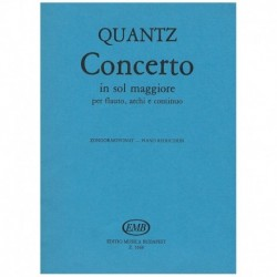 Quantz. Concierto en Sol Mayor (Flauta y Piano)
