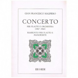 Malipiero. Concerto (Flauta y Piano)