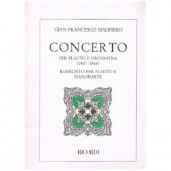 Malipiero, G Concerto (Flauta y Piano)
