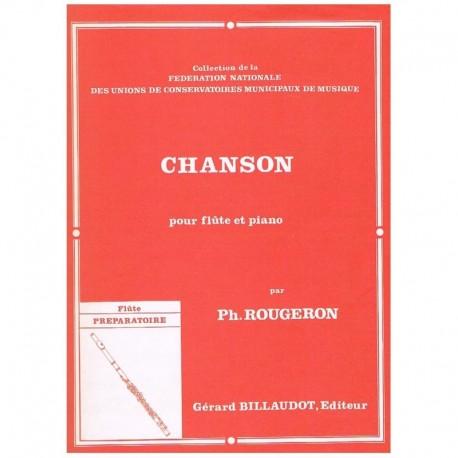 Rougeron, Ph Chanson (Flauta y Piano)