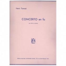Tomasi. Concierto en Fa (Flauta y Piano)