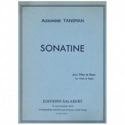 Tansman. Sonatina (Flauta y Piano)