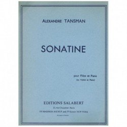 Tansman. Sonatina (Flauta y...
