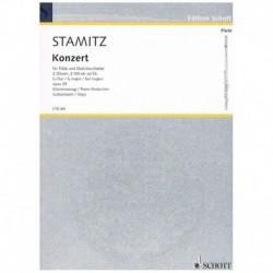 Stamitz. Concierto Sol Mayor Op.29 (Flauta y Piano)
