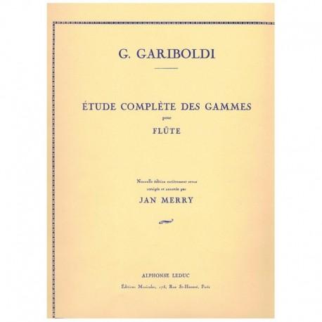 Gariboldi. Estudios Completos de Escalas (Flauta)