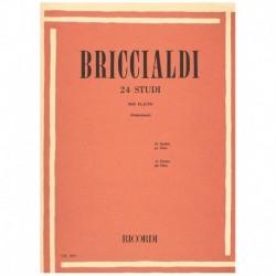 Briccialdi 24 Estudios para Flauta