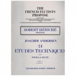 Andersen, Jo 24 Estudios Tecnicos Op.63 Vol.2 (Flauta)
