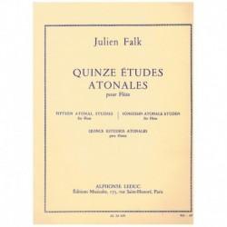 Falk, Julien Quince Estudios Atonales (Flauta)