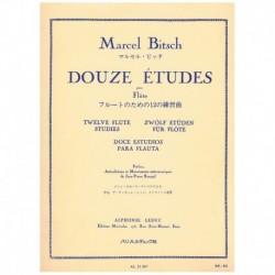Bitsch, Marc Doce Estudios para Flauta