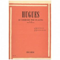Hugues. 40 Ejercicios...