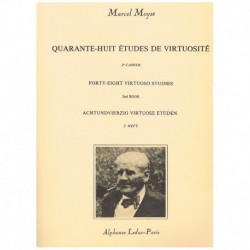Moyse, Marce 48 Estudios de Virtuosidad Vol.2 (Flauta)