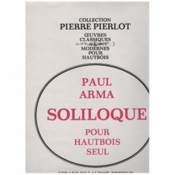 Arma. Soliloque (Oboe...