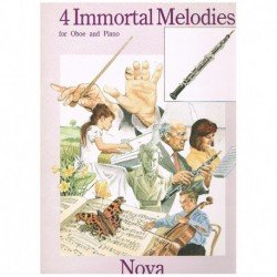 4 Melodias Inmortales (Oboe...