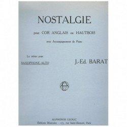 Barat, J.E. Nostalgie (Oboe...