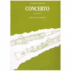 Albinoni. Concierto Op.7 Nº3 (Oboe y Piano)