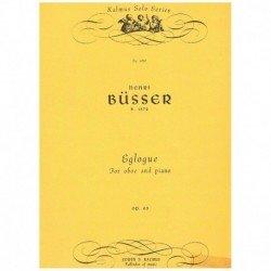Busser. Eglogue Op.63 (Oboe...