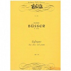 Busser, Henr Eglogue Op.63...